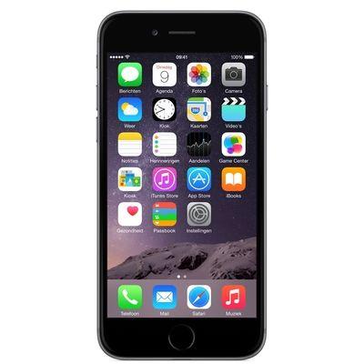 iPhone 6 16GB Space Gray Refurbished (Topklasse)