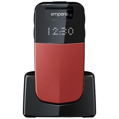 Glam senioren telefoon rood
