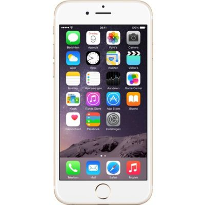 iPhone 6 16GB Goud Refurbished (Topklasse)