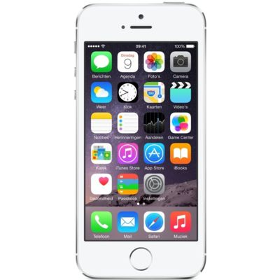 iPhone 5S 64GB Zilver Refurbished (Basisklasse)