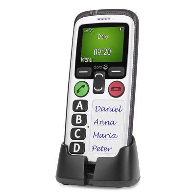 Secure 580 senioren telefoon wit