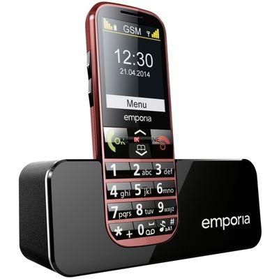 Eco senioren telefoon rood