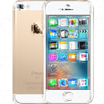 iPhone SE 64 GB Goud