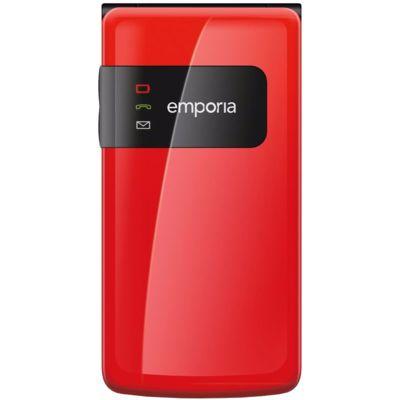 Flip Basic senioren telefoon rood